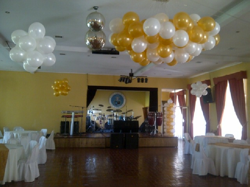 Globos matrimonio delivery globos for Budas decoracion interior