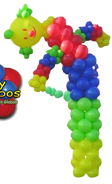 Decoraci n con globos para eventos fiestas publicidad Ornamentacion con globos